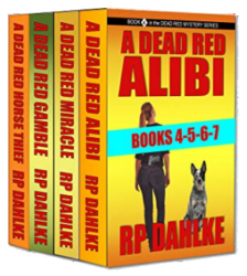 The Dead Red Mystery Series Box Set Books 4-5-6-7